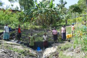 The Water Project: Lukala C Community, Livaha Spring -  Spring Celebration