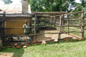 The Water Project: Muyundi Community, Magana Spring -  Chicken Coop