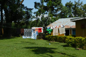 The Water Project: Muyundi Community, Magana Spring -  Clothesline