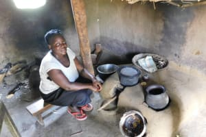 The Water Project: Muyundi Community, Magana Spring -  Meal Preparations Inside The Kitchen