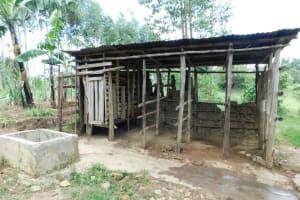 The Water Project: Muyundi Community, Magana Spring -  Animal Pen