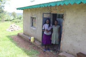 The Water Project: Mukoko Community, Zebedayo Mutsotsi Spring -  Beatrice And Yvonee