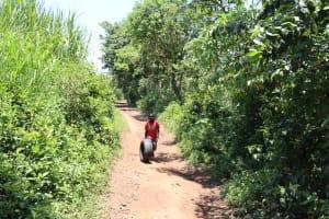 The Water Project: Mukoko Community, Zebedayo Mutsotsi Spring -  Road To The Community