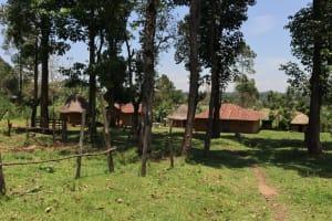 The Water Project: Mukoko Community, Zebedayo Mutsotsi Spring -  Zebedayo Compound
