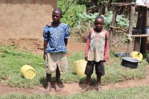 The Water Project: Mukoko Community, Zebedayo Mutsotsi Spring -  Zebedayo Grandchildren