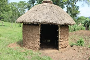 The Water Project: Mukoko Community, Zebedayo Mutsotsi Spring -  Animal Pen