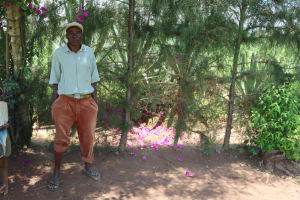 The Water Project: Shivagala Community, Alois Chiedo Spring -  Alois Chiedo