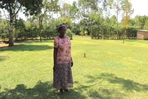 The Water Project: Shivagala Community, Alois Chiedo Spring -  Eunice Chiedo