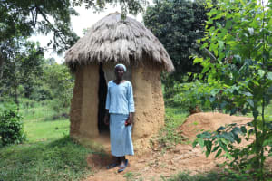 The Water Project: Shivagala Community, Alois Chiedo Spring -  Pit Latrine