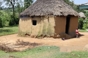 The Water Project: Shivagala Community, Alois Chiedo Spring -  Outside The Kitchen