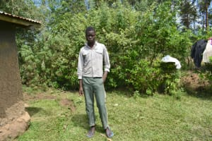The Water Project: Malanga Community, Malava Housing Spring -  Carlos