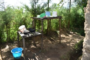The Water Project: Malanga Community, Malava Housing Spring -  Dishracks