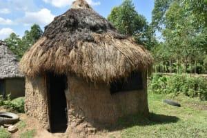 The Water Project: Malanga Community, Malava Housing Spring -  Kitchen