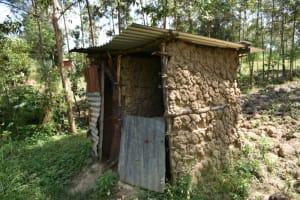 The Water Project: Malanga Community, Malava Housing Spring -  Latrine