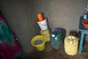 The Water Project: Malanga Community, Malava Housing Spring -  Water Storage