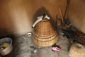 The Water Project: Shianda Community, Panyako Spring -  Chicks Nest