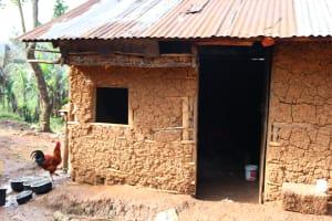 The Water Project: Shianda Community, Panyako Spring -  Outside Kitchen
