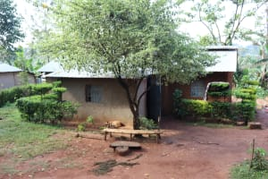 The Water Project: Shianda Community, Panyako Spring -  A Home Compound