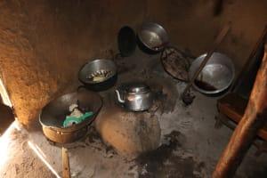 The Water Project: Shianda Community, Panyako Spring -  Cook Stove Inside Kitchen
