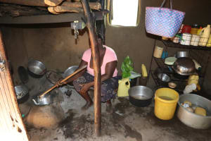 The Water Project: Shianda Community, Panyako Spring -  Preparating Food