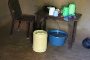 The Water Project: Shianda Community, Panyako Spring -  Water Storage Containers