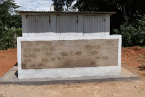 The Water Project: Jamulongoji Primary School -  Girls Latrines
