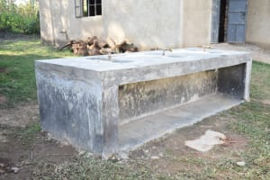The Water Project: ACK St. Peter's Khabakaya Secondary School -  School Installed Extra Handwashing Sinks