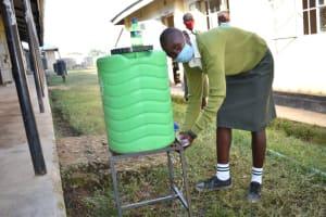 The Water Project: ACK St. Peter's Khabakaya Secondary School -  Handwashing