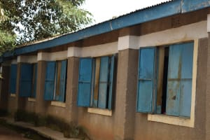 The Water Project: Mukambi Baptist Primary School -  Outside A Classroom