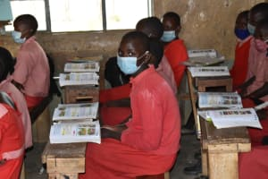 The Water Project: Mukambi Baptist Primary School -  Students In Class