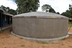 The Water Project: Jamulongoji Primary School -  Finished Dome