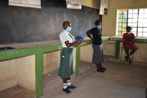The Water Project: Makunga Secondary School -  Active Participation By The Students