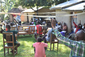 The Water Project: Emusaka Community, Muluinga Spring -  Active Participation At Training