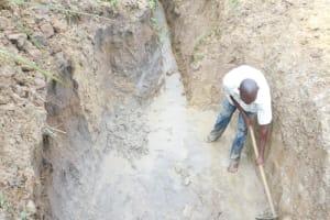 The Water Project: Emusaka Community, Muluinga Spring -  Excavation