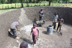 The Water Project: St. Peters Bwanga Primary School -  Internal Plastering Of The Walls