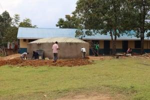 The Water Project: Jamulongoji Primary School -  Work Site