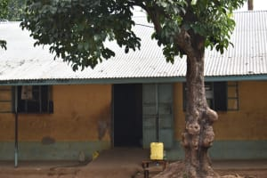 The Water Project: Mukambi Baptist Primary School -  Exterior Buildings With Handwashing Points Outside