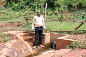 The Water Project: Mutao Community, Kenya Spring -  Jacob At Kenya Spring