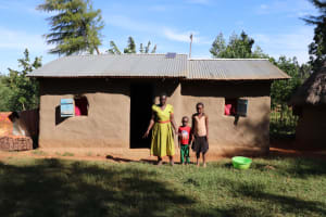 The Water Project: Mbande Community, Handa Spring -  At Home