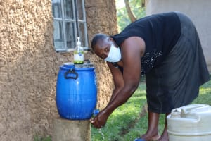 The Water Project:  Washing Her Hands