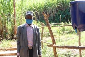 The Water Project: Namarambi Community, Iddi Spring -  Asman Iddi At The Spring