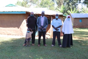 The Water Project: Namarambi Community, Iddi Spring -  Asman With Family