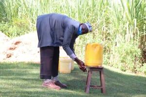 The Water Project: Namarambi Community, Iddi Spring -  Handwashing