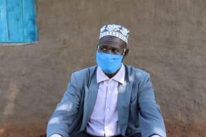 The Water Project: Namarambi Community, Iddi Spring -  Masked Up