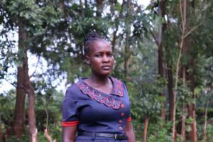 The Water Project: Shisere Community, Richard Okanga Spring -  Christine Magotsi
