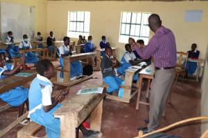 The Water Project: Jamulongoji Primary School -  Teaching Ten Steps Of Handwashing