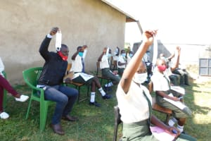 The Water Project: ACK St. Peter's Khabakaya Secondary School -  The Session Was Full Of Life