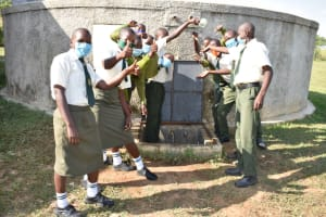 The Water Project: ACK St. Peter's Khabakaya Secondary School -  Water Celebrations