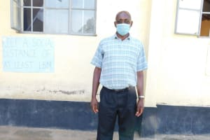 The Water Project: ACK St. Peter's Khabakaya Secondary School -  Teacher Kenneth Mulongo