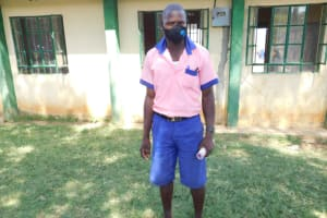 The Water Project: Eshimuli Primary School -  Micah Masked Up